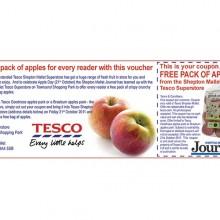 Free Gift Voucher (Tesco, Shepton Mallet)