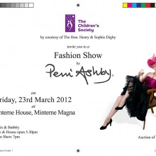 Invitation (Perri Ashby Fashion Show)